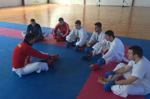 Dojran karate so Martin