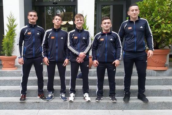 Кадетската репрезентација отаптува на Европското првенство во Фиренца